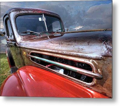 Colorful Rust - 1942 Ford Metal Print