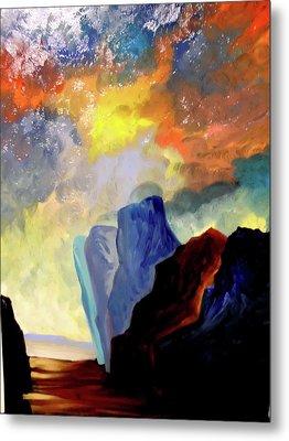 Colorful Scape Metal Print by Joe Santana