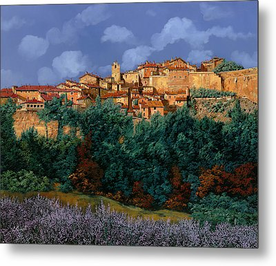 colori di Provenza Metal Print by Guido Borelli
