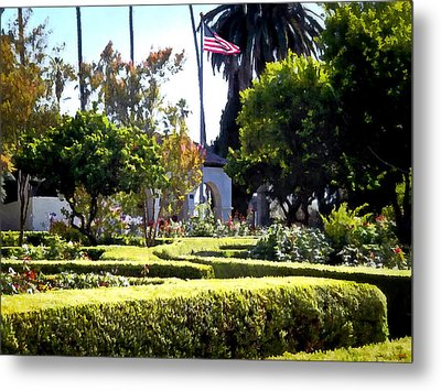 Metal Print featuring the photograph Colors In The Garden by Glenn McCarthy Art and Photography