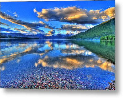 Colors Of Clouds Metal Print by Scott Mahon