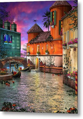 Colors Of Venice Metal Print