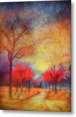 Colour Burst Metal Print by Tara Turner