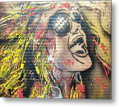 Colours Metal Print by Dorian Williams