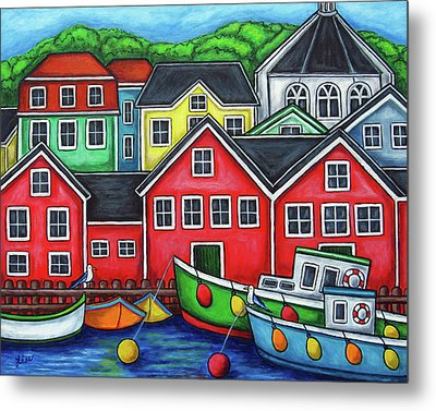 Colours Of Lunenburg Metal Print