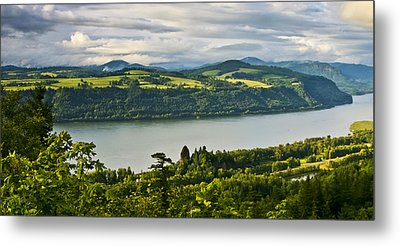 Columbia Gorge Scenic Area Metal Print by Albert Seger