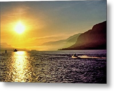 Columbia River 001 Metal Print by Scott McAllister