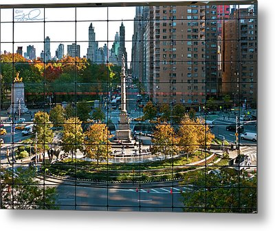 Columbus Circle Metal Print by S Paul Sahm