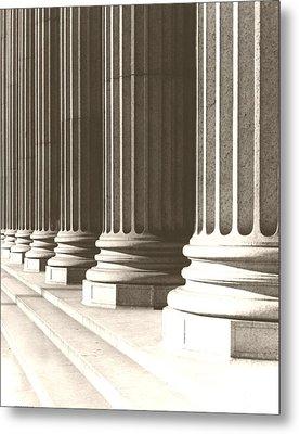 Columns Metal Print by Daniel Napoli