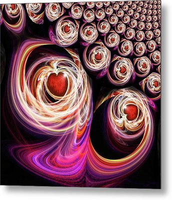 Come Be With Me And Be My Love Metal Print by Michael Durst