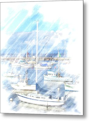 Metal Print featuring the photograph Come Sail With Me by Barbara MacPhail