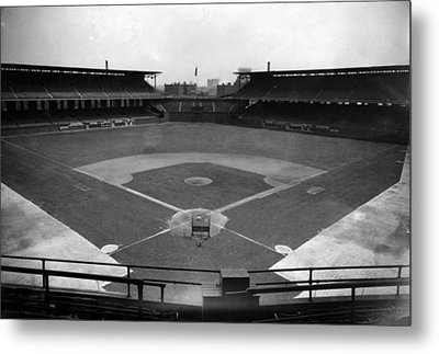 Comiskey Park, Baseball Field That Metal Print by Everett