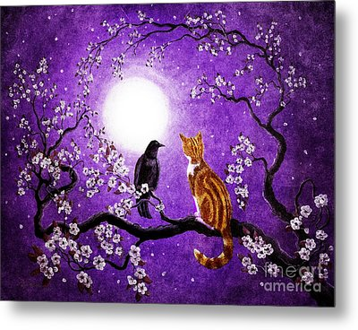 Companionable Silence Metal Print by Laura Iverson