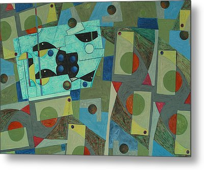 Composition Xxv 07 Metal Print by Maria Parmo