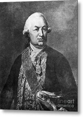 Comte De Grasse (1722-1788) Metal Print by Granger