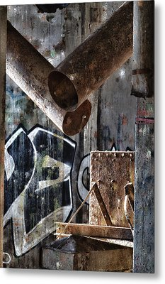 Concrete Central 8 Metal Print by Chuck Alaimo