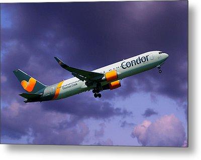 Condor Boeing 767-3q8 Metal Print