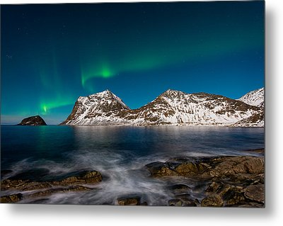 Connect The Dots Metal Print by Michael Blanchette