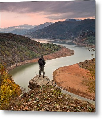 Contemplation Metal Print by Evgeni Dinev