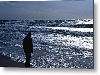 Metal Print featuring the photograph Contemplation by Lori Miller