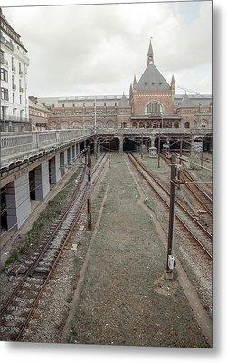 Copenhagen Central Station Metal Print