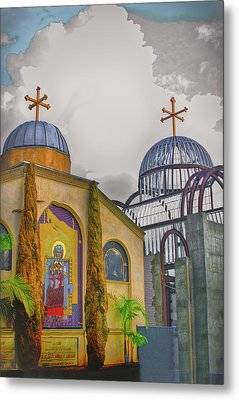 Coptic Church Rebirth Metal Print by Joseph Hollingsworth