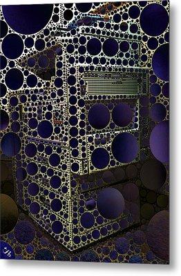 Copy Scan Print Metal Print by Ron Bissett