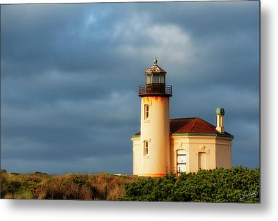 Coquille River Lighthouse  Metal Print