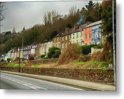 Metal Print featuring the photograph Cork Row Houses by Marie Leslie