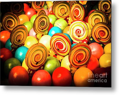 Corner Store Candies  Metal Print by Jorgo Photography - Wall Art Gallery