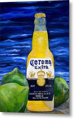 Corona Metal Print by Patti Schermerhorn