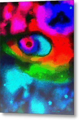 Cosmic Eye - Da Metal Print by Leonardo Digenio