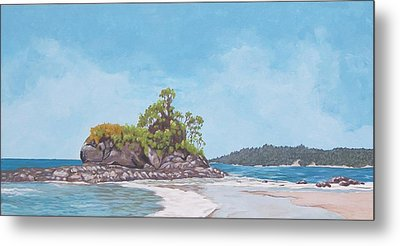 Costa Rican Coast Metal Print