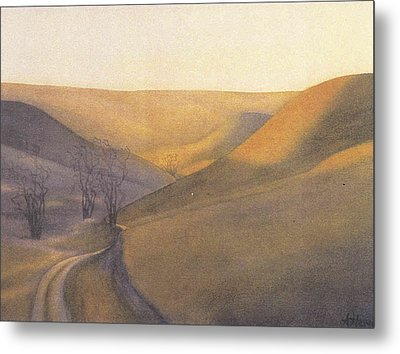 Coulee Sunset Metal Print by Anne Havard