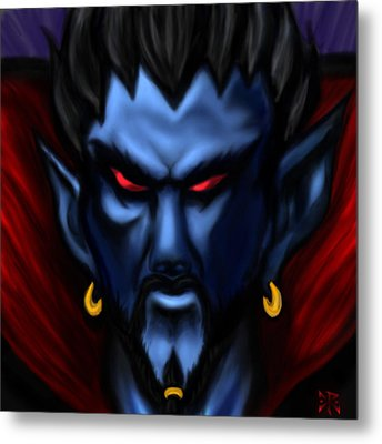 Count Vladric Metal Print by Christopher Robin