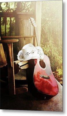 Country Music Metal Print by Stephanie Frey