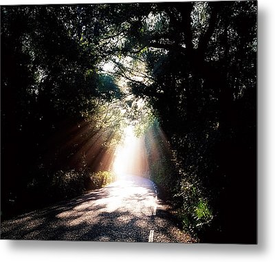 Country Road, Kenmare, Co Kerry, Ireland Metal Print by The Irish Image Collection