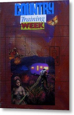 Country Training Week Metal Print by Adam Kissel