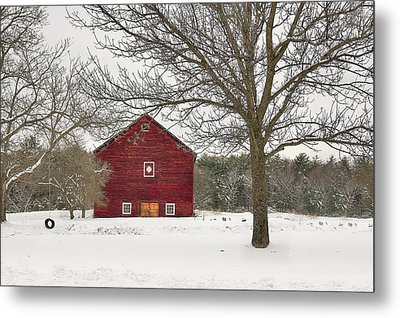 Metal Print featuring the digital art Country Vermont by Sharon Batdorf