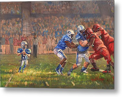 Courage To Believe Metal Print by Jeff Brimley