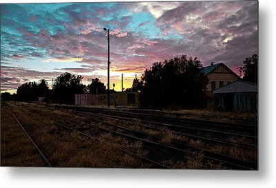 Cowra Sunset Metal Print by John Buxton