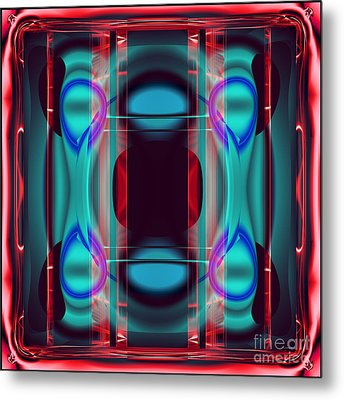 Cpu Inside Metal Print by Ganesh Barad