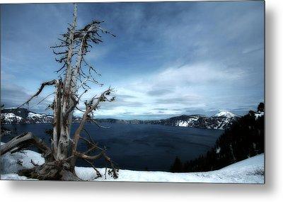 Crater Lake Metal Print by Bonnie Bruno