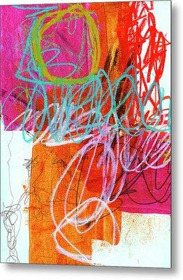 Crayon Scribble #7 Metal Print by Jane Davies