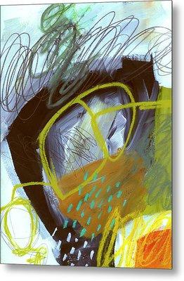 Crayon Scribble#5 Metal Print by Jane Davies