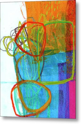 Crayon Scribble#8 Metal Print by Jane Davies