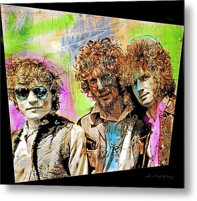 Cream Metal Print by David Lloyd Glover