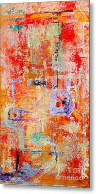 Crescendo Metal Print by Pat Saunders-White