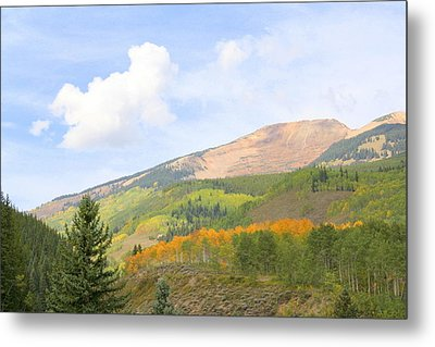 Crested Butte Metal Print by Jessie Foster