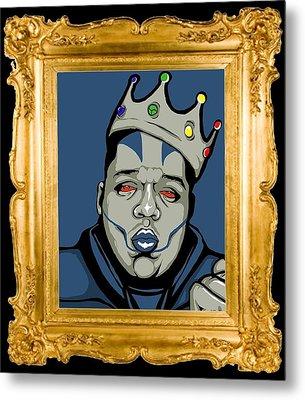 Metal Print featuring the digital art Crooklyn's Finest by Cg